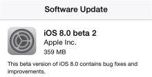 iOS8beta2