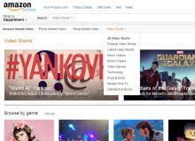 Amazon VídeoShorts section