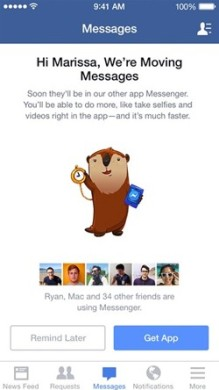 facebook-messenger chat