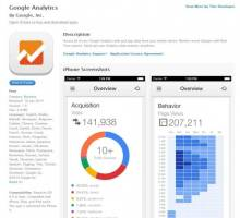 google analytics for ios