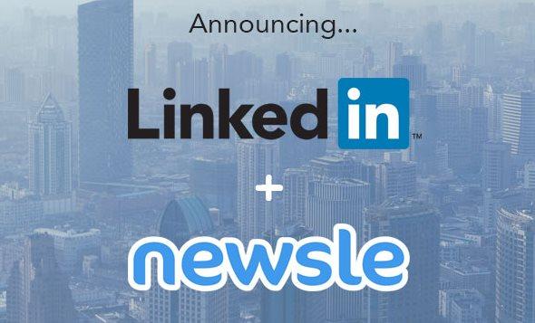 linkedin newsle