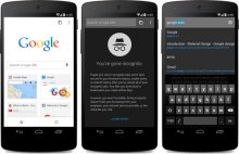 new chrome beta for android
