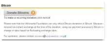 wikimedia accept bitcoin