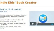amazon kindle kids book creator