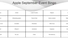 apple september event bingo