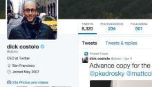 dick castolo twitters