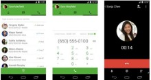 free phone calls from hangouts