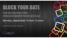 google new announcement