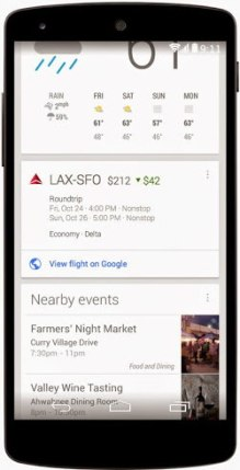 google now airfares discount