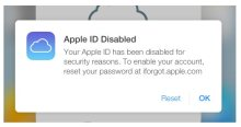 iCloud Disabled