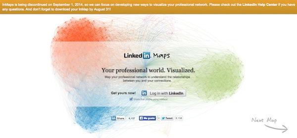 LinkedIn inMaps