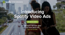 Spotify video ads