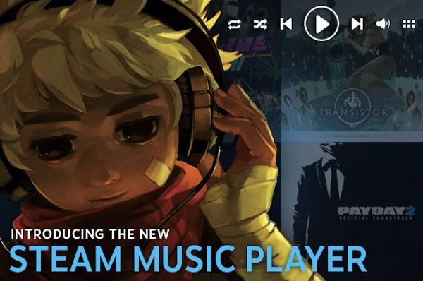Steam-Music-Player